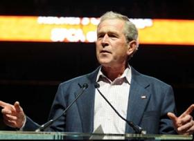 George W. Bush Honors Charitable Kids