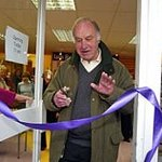 Geoffrey Palmer Re-Opens Charity Store