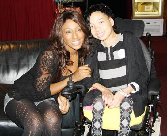 Alexandra Burke and Shelby