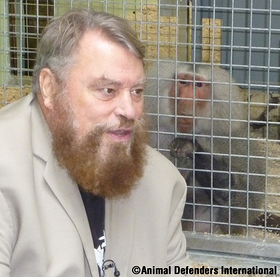 Brian Blessed and Tilin