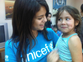 Selena Gomez in Chile for UNICEF