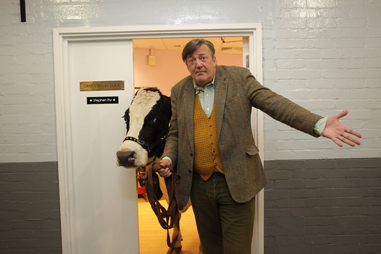 Stephen Fry Clash of the Comics