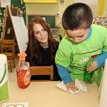Julianne Moore Launches We Love Our Schools Campaign