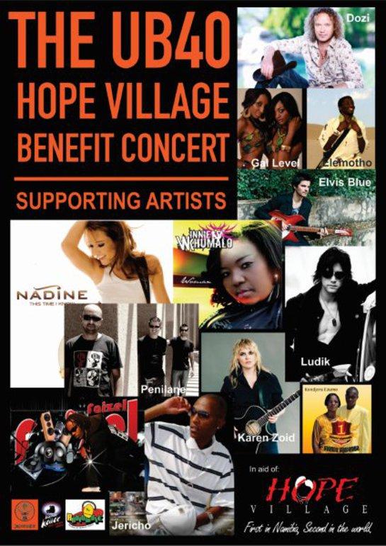 UB40 For Hope Concert