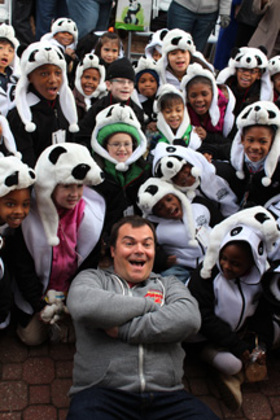 Jack Black and Panda Kids