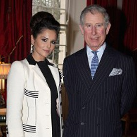 Cheryl Cole and Prince Charles