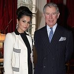 Cheryl Cole Discusses Charity With Prince Charles