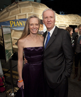 James And Suzy Amis Cameron