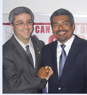 Thomas A. Saenz and George Lopez