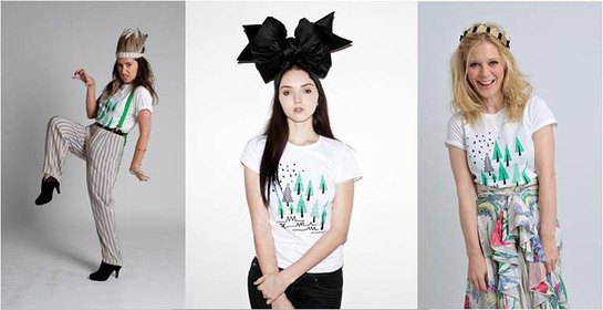 KT Tunstall, Lily Cole, Emilia Fox - Climate Week T-shirts