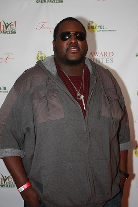 Quinton Aaron at ALIVE! Expo