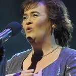 Susan Boyle Flips Pancakes For Charity
