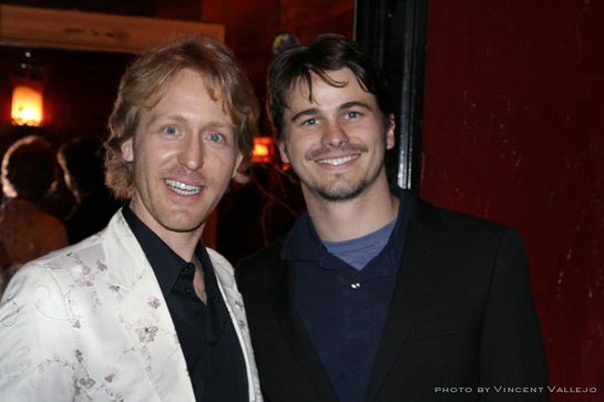 Event Co-Producer Mike L. Murphy and Host Jason Ritter