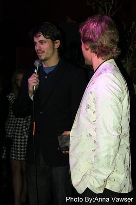 Jason Ritter speaks about his support of and passion working with the Young Storytellers Foundation