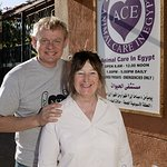 Martin Clunes Supports Animal Care Charity In Egypt