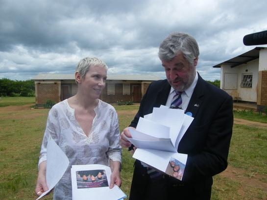 Annie Lennox in Malawi