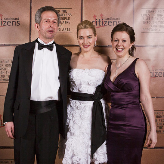 Kate Winslet at Cardboard Citizens Charity Event