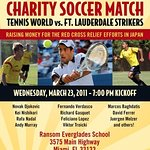 Tennis Stars To Play Celebrity Charity Soccer For Japan