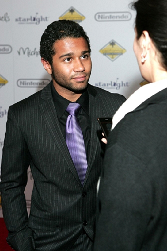 Corbin Bleu Attends Stellar Night