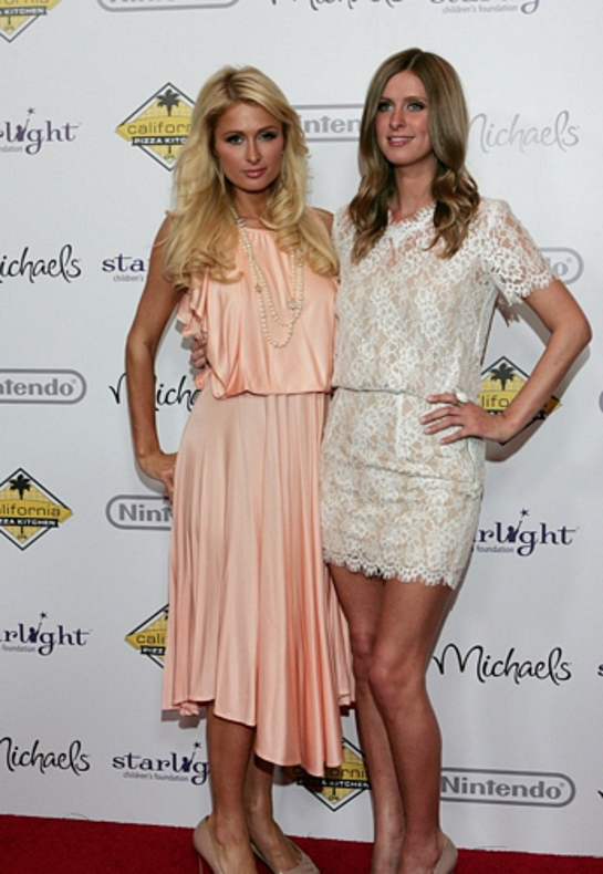 Paris and Nicky Hilton at Stellar Night 2011