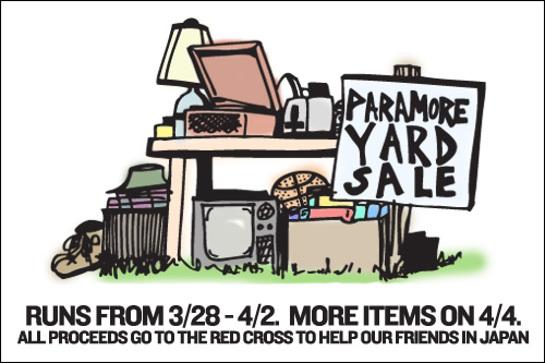 Paramore Yard Sale