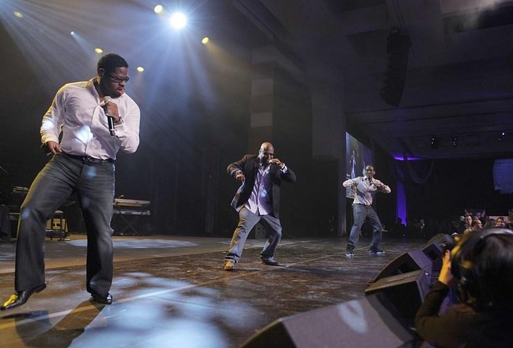 Boyz II Men Perform at MJCI Celebration, Las Vegas