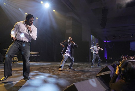 Boyz II Men Perform at MJCI Celebration, Las Vegas