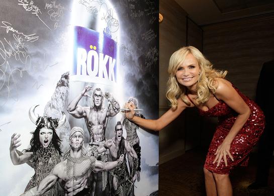 Kristin Chenoweth signing ROKK photo