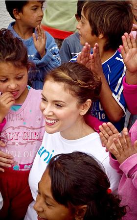 Alyssa Milano UNICEF