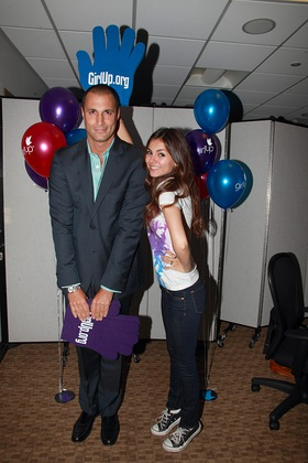 Nigel Barker and Victoria Justice