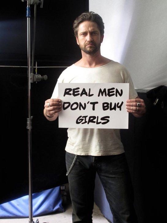 Gerard Butler Real Men