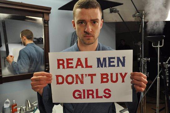 Justin Timberlake Real Men