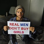 Photos: Celebrities Join Real Men Don't Buy Girls Campaign