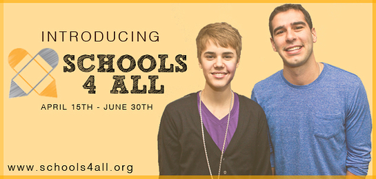 Bring Justin Bieber to your school