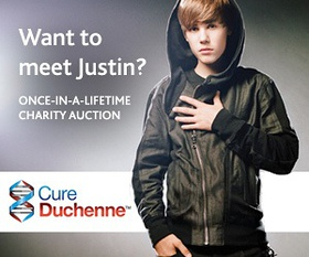 Cure Duchenne and meet Justin Bieber