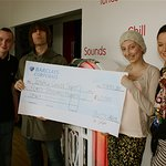 Liam Gallagher Presents Charity With Donation
