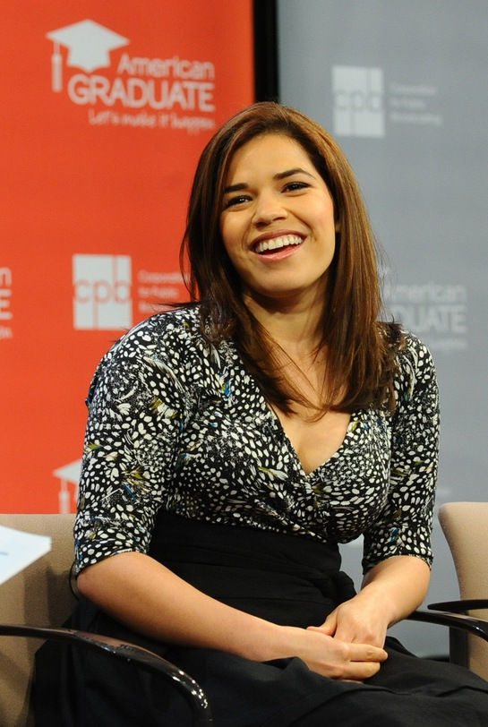 America Ferrera helps launch public media's new education initiative