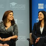 America Ferrera And Aimee Garcia Support Graduation Initiative