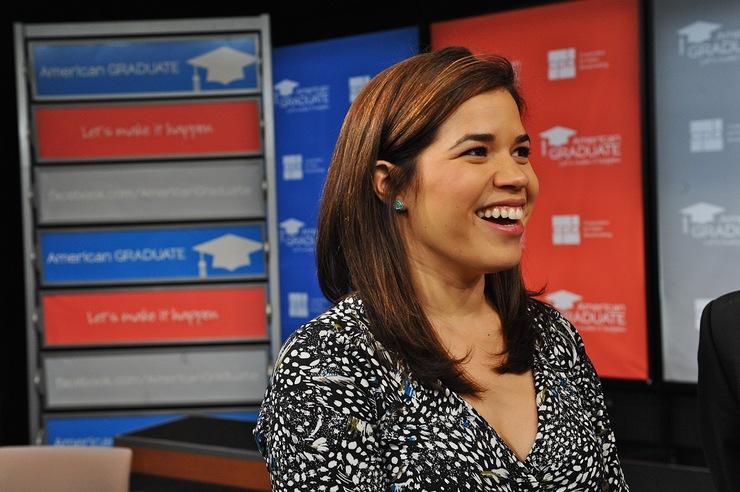 America Ferrera helps launch public media's new education initiative