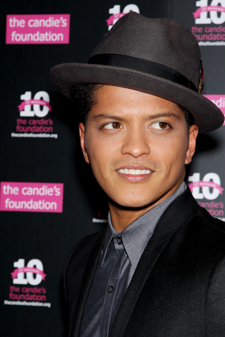 Bruno Mars at Event To Prevent