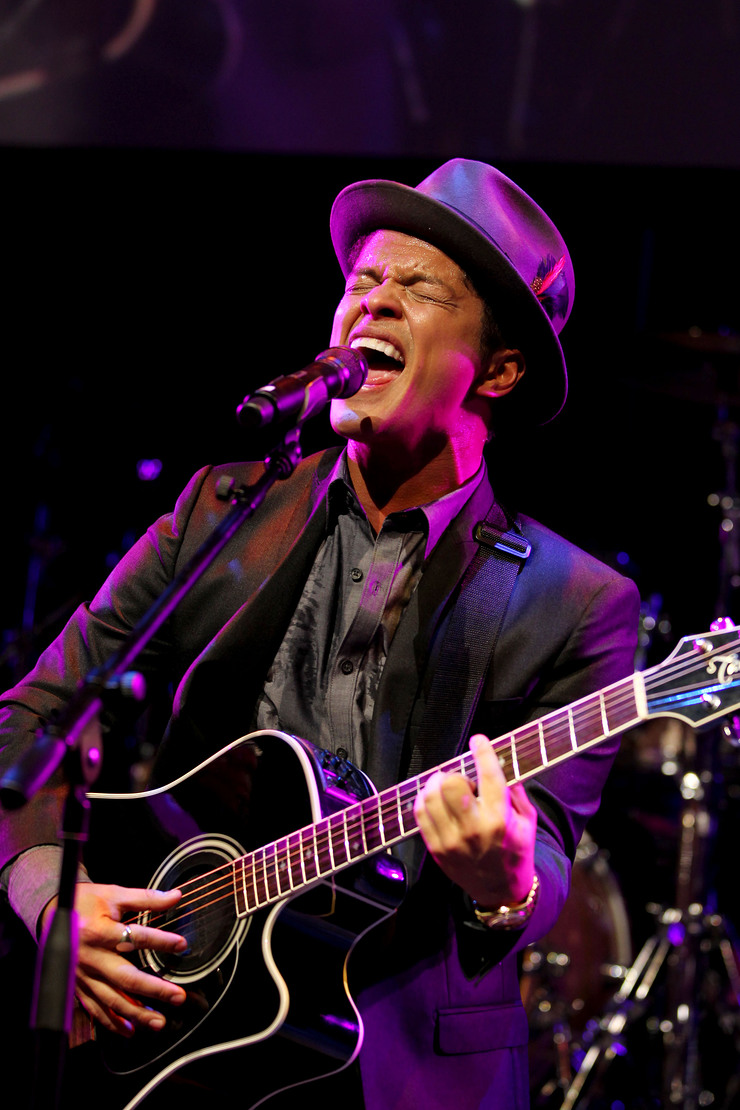 Bruno Mars Performs At Event To Prevent