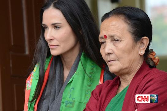 Demi Moore CNN Nepal's Stolen Children