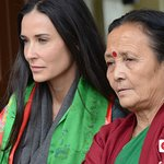 Demi Moore Contributes To CNN Documentary On Nepal's Stolen Children
