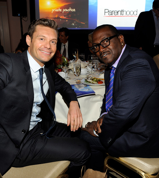Ryan Seacrest, Honoree, with Randy Jackson