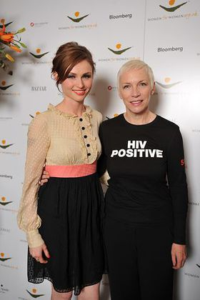 Sophie Ellis-Bextor and Annie Lennox