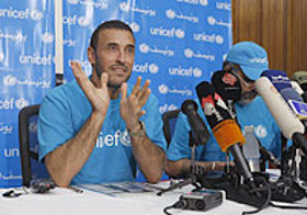 Kadhum Al-Sahir named as UNICEF Ambassador
