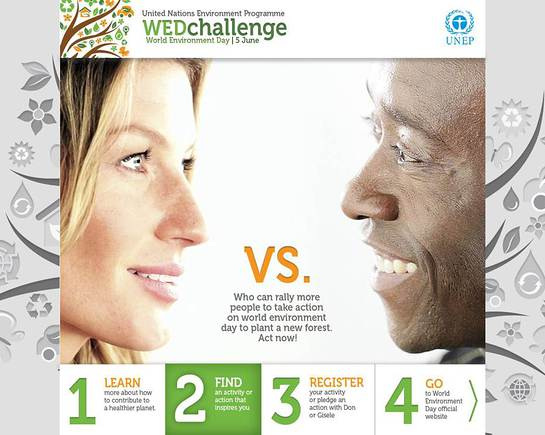 Gisele and Don World Environment Day Challenge