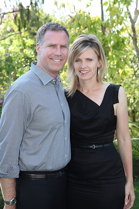 Will Ferrell & Wife Viveca Paulin-Ferrell