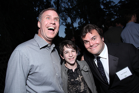 Will Ferrell, Zachary Gordon, Jack Black.