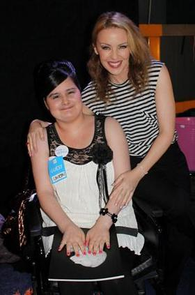 Kylie Meets Lauren for Make-A-Wish